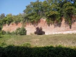 Photo paysage et monuments, Heilly - Remparts du château un jour d'automne