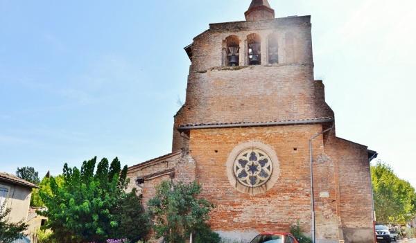 Photo Giroussens - L'église