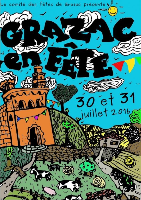 grazac 81 en fête 30 et 31juillet 2016