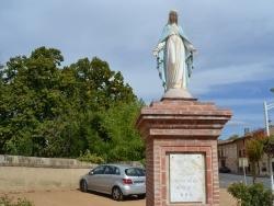 Photo paysage et monuments, Montans - Statue