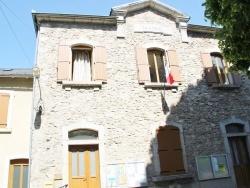 Photo paysage et monuments, Nages - la mairie
