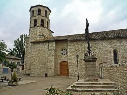 Photo paysage et monuments, Vieux - Entrée de l'Eglise sainte Eugéne