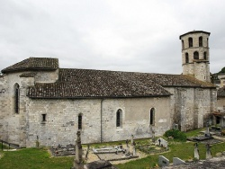 Photo paysage et monuments, Vieux - Eglise Sainte Eugéne vue du cimetierre