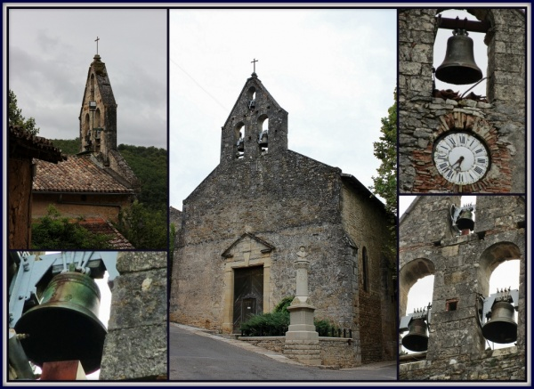 Photo Bruniquel - Eglise St Maffre