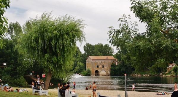 Ancien Moulin sur L'Aveyron