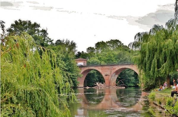 Pont sur L'Aveyron