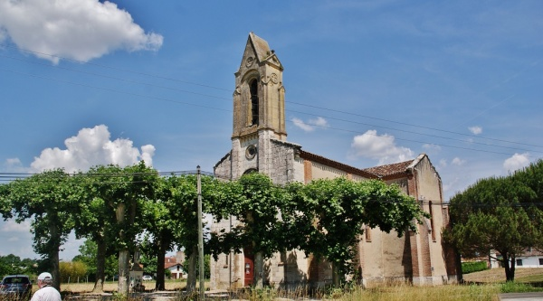 Photo Moissac - église Ste Hippolyte a Sainte-Livrade