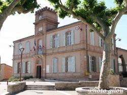Photo paysage et monuments, Monclar-de-Quercy - La mairie de Monclar de Quercy