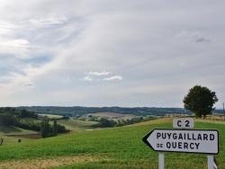 Photo paysage et monuments, Puygaillard-de-Quercy - Campagne de Puygaillard-de-Quercy