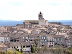 Photo paysage et monuments, Puylaroque - Vue du village