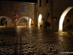 Photo paysage et monuments, Valence - ombres et lumières à CASTELSAGRAT
