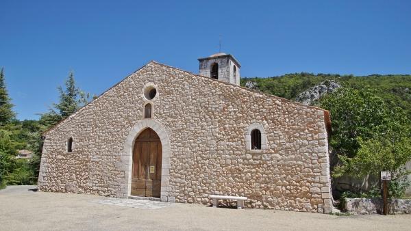 Photo Aiguines - église Saint Pierre