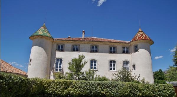 Photo Aiguines - le château