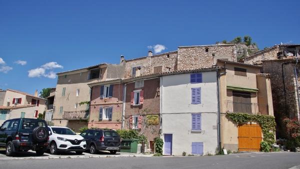 Photo Aiguines - le village