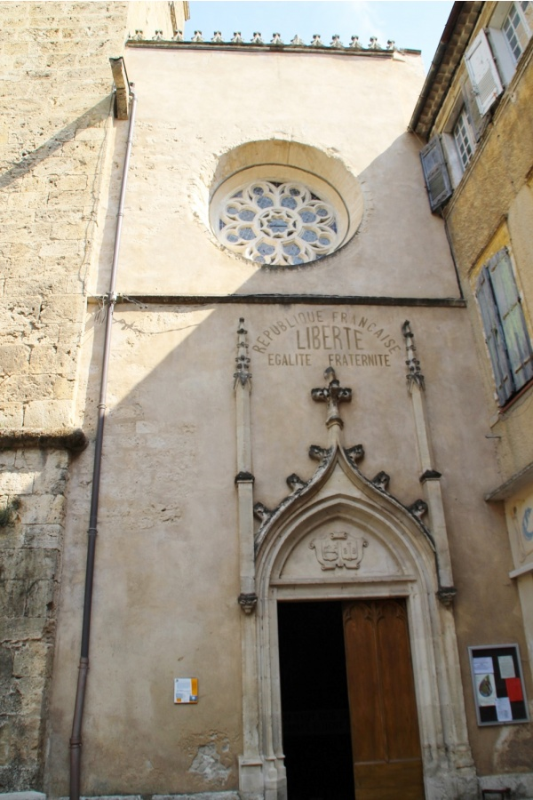 Photo Barjols - église Notre Dame