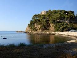 Photo paysage et monuments, Bormes-les-Mimosas - Le Fort de Brégançon