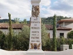 Photo paysage et monuments, Néoules - le monument aux morts