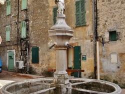 Photo paysage et monuments, La Roquebrussanne - Fontaine