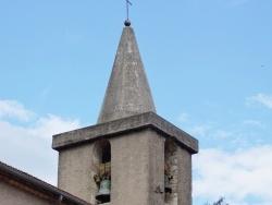 Photo paysage et monuments, La Roquebrussanne - clocher St Sauveur