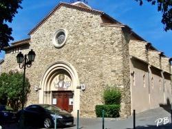 Photo paysage et monuments, Sainte-Maxime - église Ste Maxime
