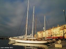 Photo paysage et monuments, Saint-Tropez - Vue du port de Saint Tropez