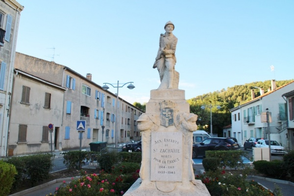 Photo Saint-Zacharie - Monuments Aux Morts