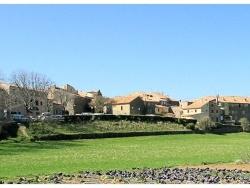 Photo paysage et monuments, Tourtour - Vue générale du village.