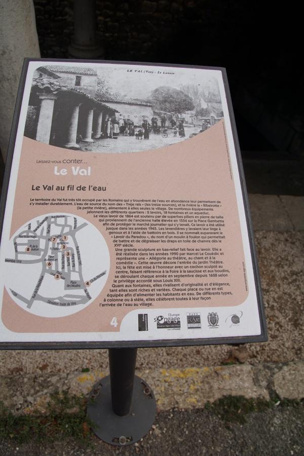Photo Le Val - lavoir romain
