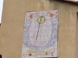 Photo paysage et monuments, Le Val - le cadran solaire