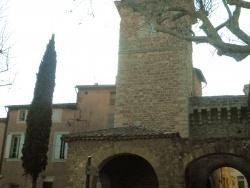 Photo paysage et monuments, Aubignan - porche