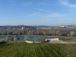 Photo paysage et monuments, Avignon - vue du rocher des doms