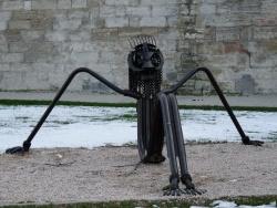 """Photo paysage et monuments, Avignon - le """"zoulou"""" au bord du rhône"""