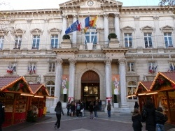 Photo paysage et monuments, Avignon - la mairie d' avignon
