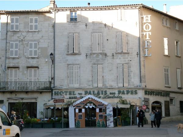 hôtel du palais des papes