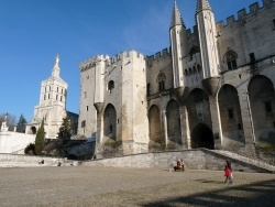 Photo paysage et monuments, Avignon - le palais des papes