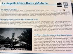 Photo paysage et monuments, Beaumes-de-Venise - beaumes de venise chapelle d'aubune .B