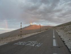 Photo paysage et monuments, Bédoin - Mont Ventoux arc en ciel 1ère montée par Bédoin