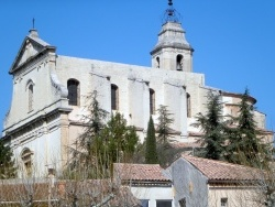 Photo paysage et monuments, Bédoin - église