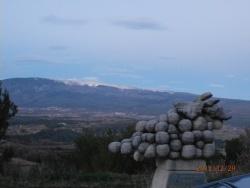 Photo paysage et monuments, Blauvac - vue sur le Ventoux