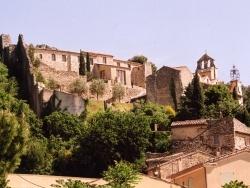 Photo paysage et monuments, Gigondas - vue du château