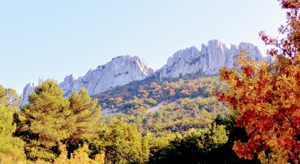 Photo Gigondas - Les dentelles de Montmirail