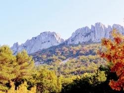 Photo paysage et monuments, Gigondas - Les dentelles de Montmirail