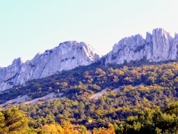 Photo paysage et monuments, Gigondas - Les dentelles de Montmirail.B.