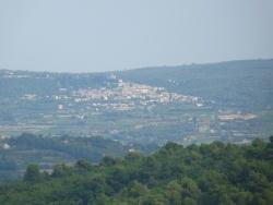 Photo paysage et monuments, Gordes - la chaussée des géants vu de gordes