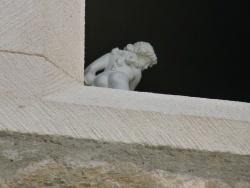 Photo paysage et monuments, Maubec - les villageois ont de l'humour!! un ange passe !