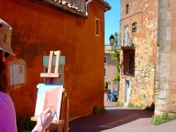 Photo paysage et monuments, Roussillon - Roussillon