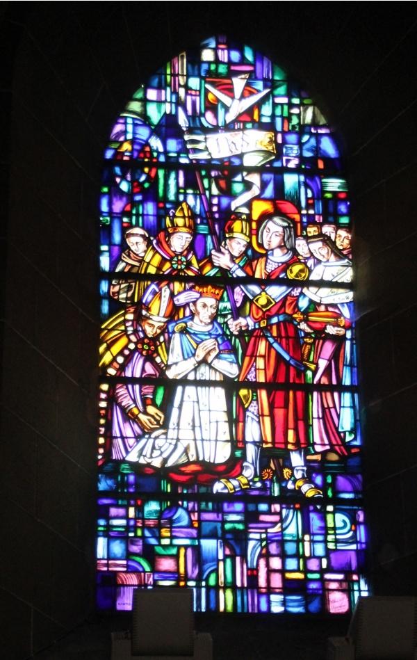 Vitraux St jean baptiste