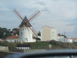 Photo paysage et monuments, Jard-sur-Mer - moulin a jard