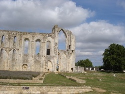 Photo paysage et monuments, Maillezais - l'abbaye