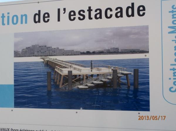 Photo Saint-Jean-de-Monts - nouvelle estacade